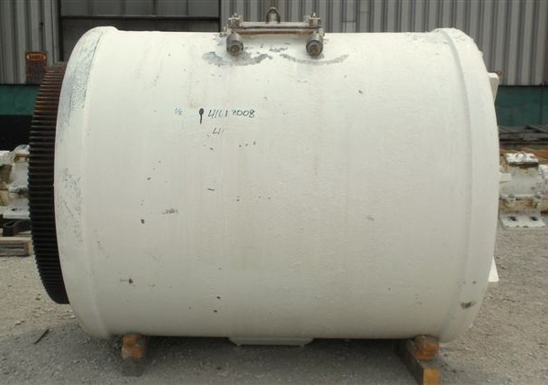 57″ X 57″ Paul O. Abbe Model PM-3C Brick-Lined Ball Mill