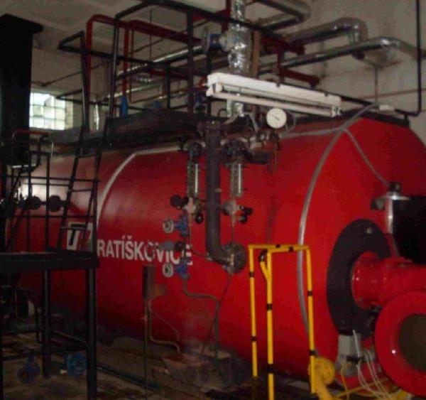 3493 HP THS 40 Steam Boiler