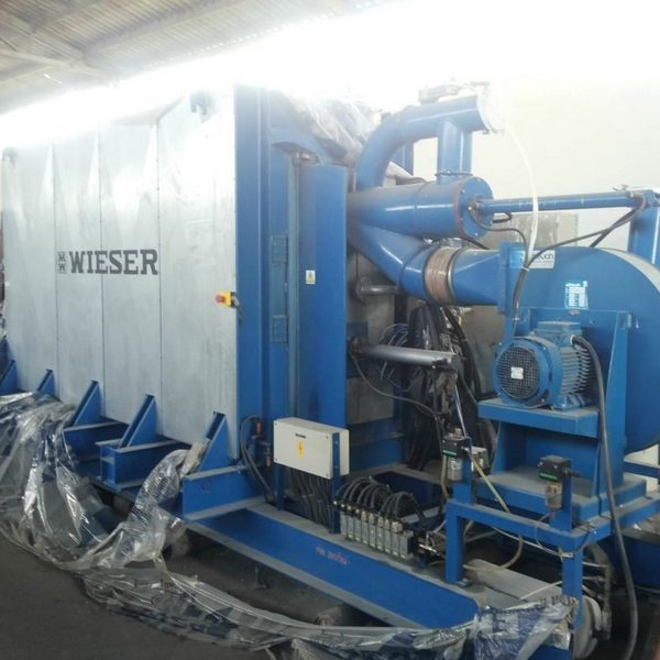 Used Wieser Styrofoam Production Line with Capacity 400 m3/day