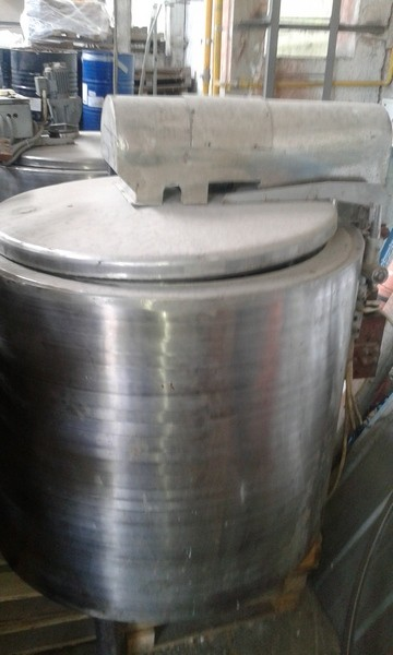 630 Litres Stainless Steel Mixing Vessel 1213mm Dia x 2000mm Straight Side