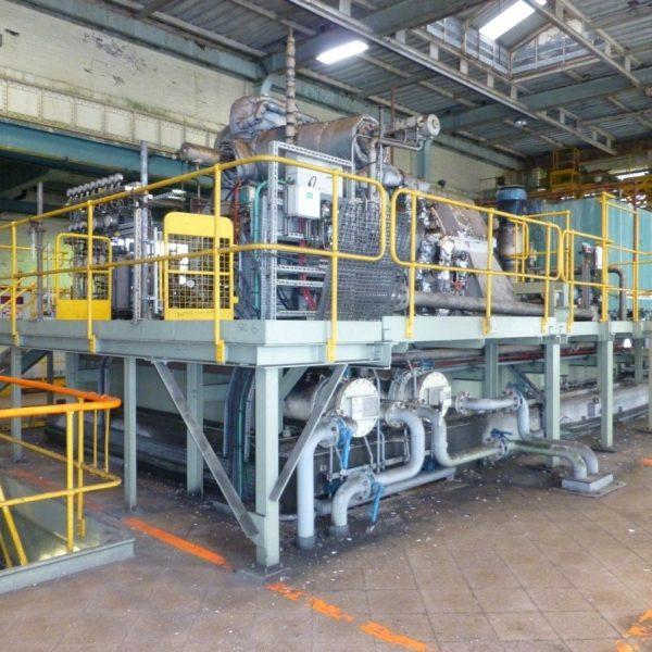 10500 kW 260 PSI AEG-Kanis Condensing Turbogenerator Set