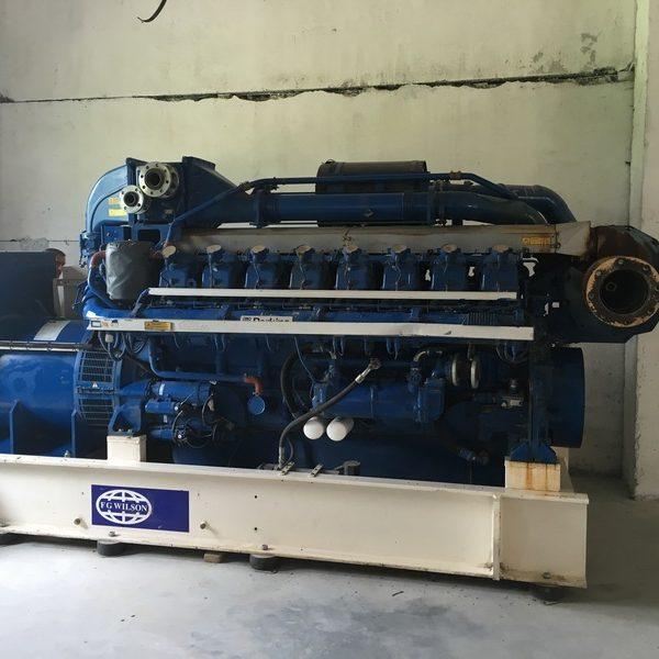 1000 KW        50HZ GAS ENGINE BY FG WILSON