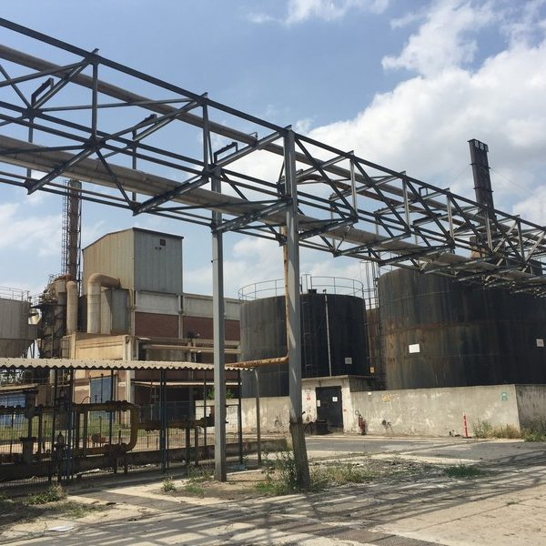 Used paper mill with the capacity 230 tones per day, raw materials waste paper and cellulose
