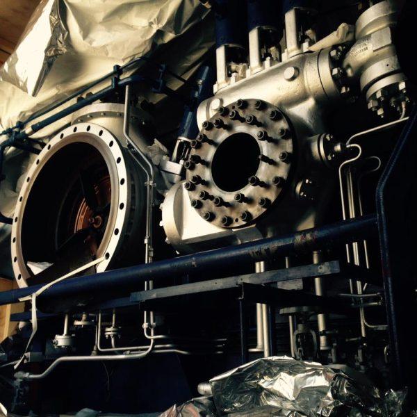Used SIEMENS type KKK CA-36 condensing turbogenerator set 1800KW, 24.5bar, 430*C, 400V, 50Hz.
