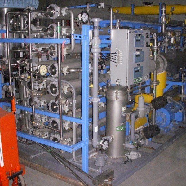 US Filter Model 876C2F Reverse Osmosis System
