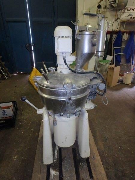 40 Litre Stephan Model UM/HC 40E Stainless Steel Hi-Intensity Mixer