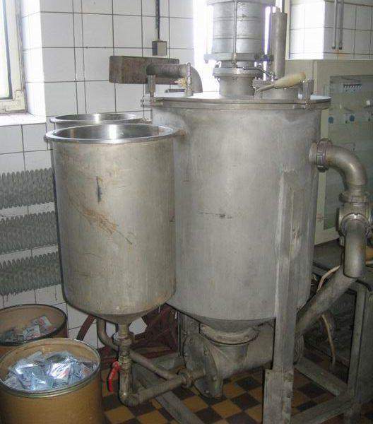 79 Gallon (300 Liter) Flimer Stainless Steel Homogenizer