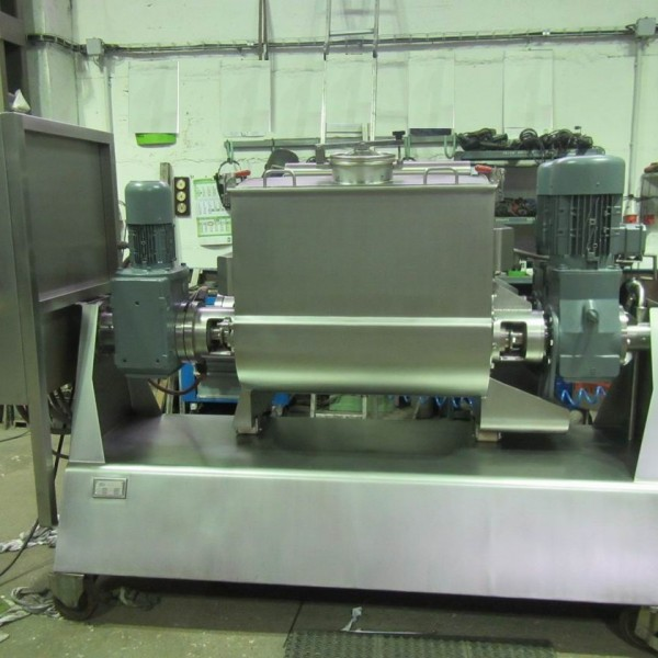 400 Litre Model HM 500 2SV Stainless Steel Sigma Blade Double Arm Mixer