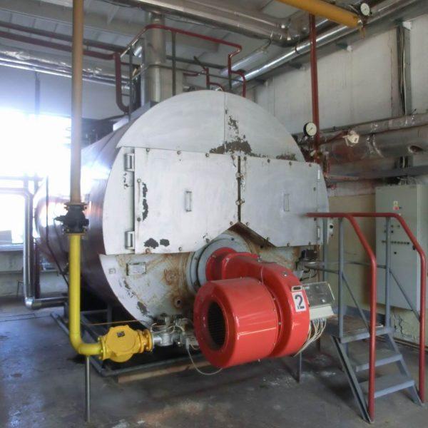 4000 Kg/Hour 0.9 MPA Sigma Slatina Boiler