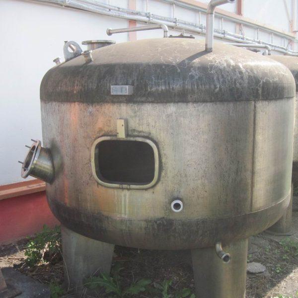 4000 Liters Stainless Steel Vertical Tank