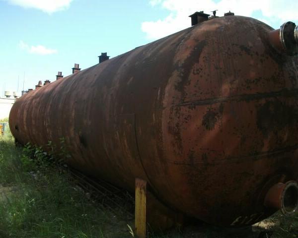 100000 Liters Stainless Steel Horizontal Storage Tank 3000mm Diameter x 14000mm Side