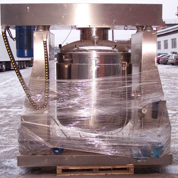 264 Gallon 27 HP Sogema Stainless Steel Vacuum Processing Mixer/Homogenizer