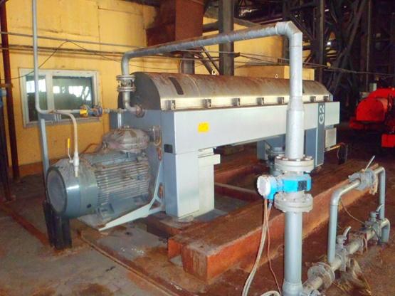 Alfa Laval Aldec G2-95 510mm Diameter Horizontal Stainless Steel Decanter Centrifuge