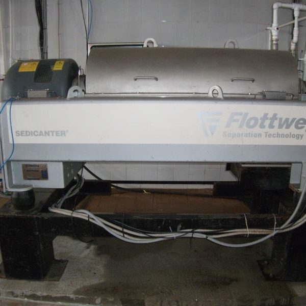 Flottweg S4E-3/408 470mm Si Sedicanter Centrifuge
