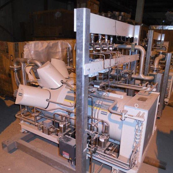 Nitrogen Compressing Plant, 180 Nm3/hour, Unused