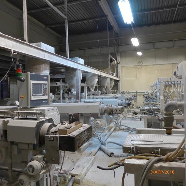 Mikrosan PVC panel production plant