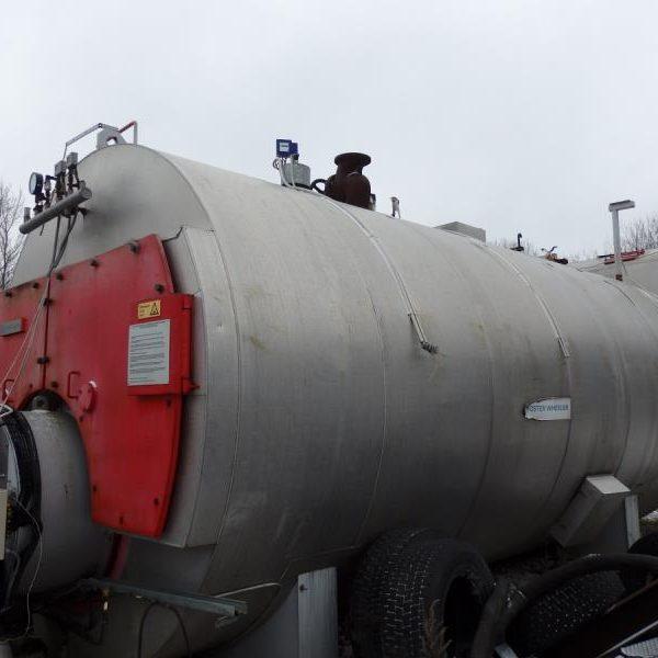 175 psi Foster Wheeler FW 25-16 Steam Boiler
