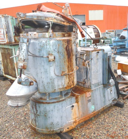 300 Litre Papenmeier Model TSHK300 High Intensity Mixer