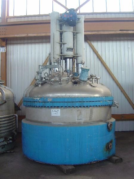 4.0 Sq. M. Rosenmund 316L Stainless Steel Nutsche Filter Dryer