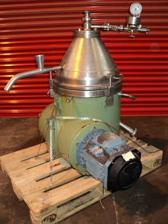 Westfalia Model TA 14-06-506 Clarifier Centrifuge