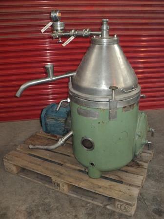 Westfalia Model TA 14-06-506 Clarifier