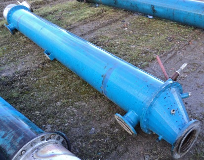 27.1 Sq. M. Enalco Horizontal Shell and Tube Heat Exchanger