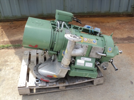 Westfalia CA221-21-00 220mm / 125mm Bowl Dia Stainless Steel Decanter Centrifuge