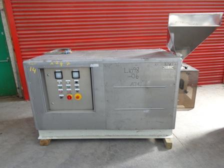 Bepex Model GCS200/60 Stainless Steel Extruder/Pelletizer