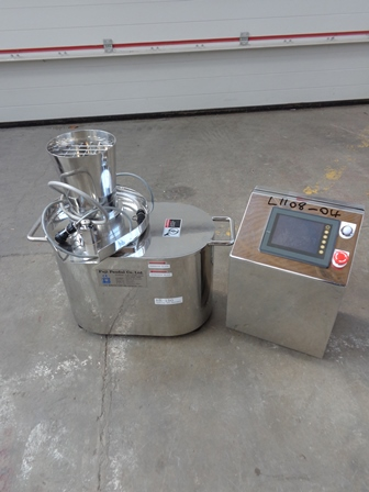 Fuji Paudal Model Tabletop BR-150 Stainless Steel Basket Granulator