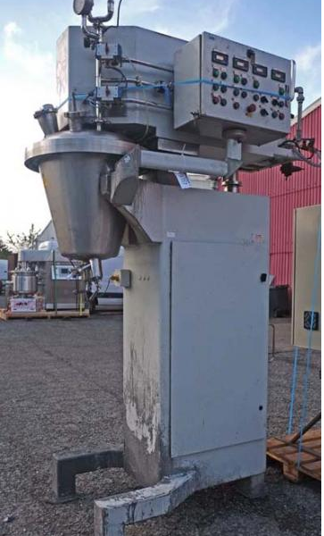 50 Litre 1 HP Rayneri Model  Trimix TXR50 Stainless Steel Process Vessel