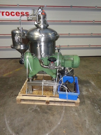 Westfalia Model CSA 19-47-476 Stainless Steel Clarifier Centrifuge
