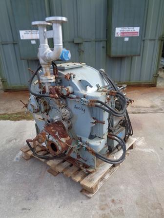 25″ Krauss Maffei HZ63 Peeler Centrifuge