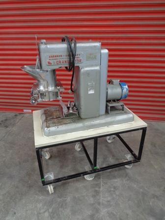 Jackson Crockatt Model No. 6 Stainless Steel Reciprocating Granulator