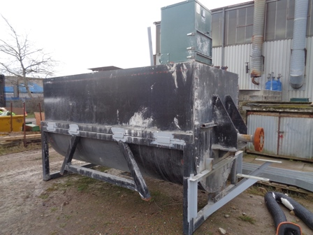 2,500 Litre Carbon Steel Ribbon Blender
