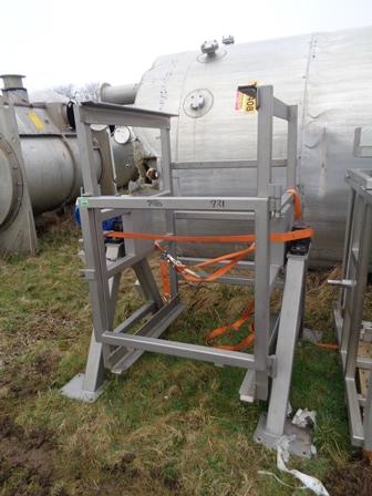 600 Litre Stainless Steel Tumbler