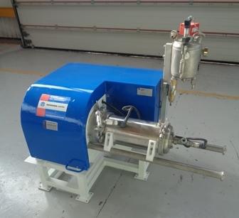 5 Litre Hosokawa Model 132AHM Polymer Lined Bead Mill