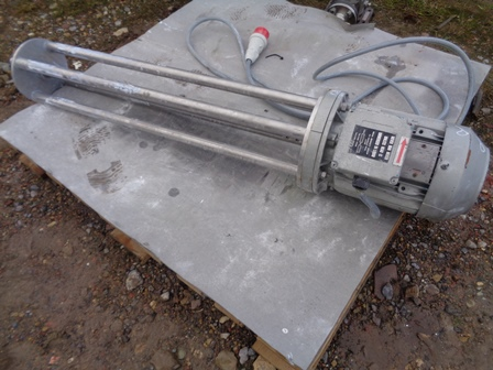 Stainless Steel Type EH403 High Shear Mixer