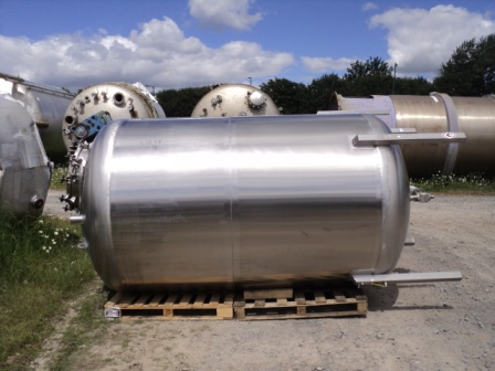 5,000 Litre H. Pontifex Stainless Steel Vertical Storage Vessel, 1700mm Dia x 2250mm Straight Side