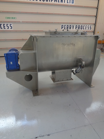 1,000 Litre Permix Model PRB-1000 304 Stainless Steel Ribbon Blender, New