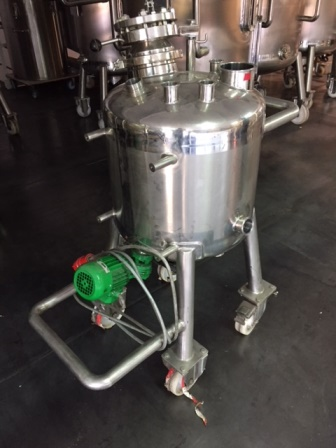 90 Litre Sapphire Engineering 316L Stainless Steel Vertical Mixing Vessel