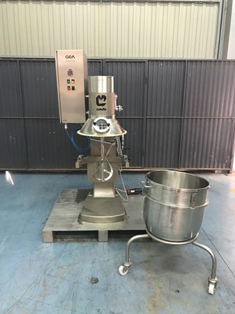 20 Gallon Collette Stainless Steel Mixer