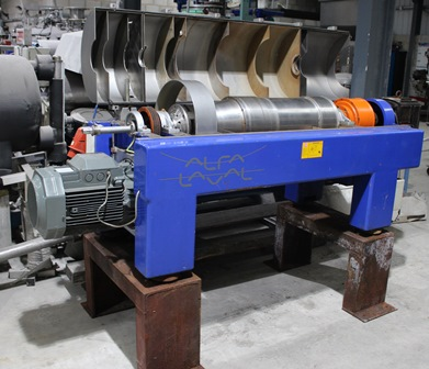 Alfa Laval P2-200 Stainless Steel Decanter Centrifuge