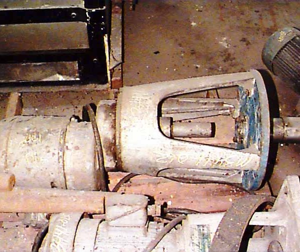 2 HP 1750 RPM Lightnin Vertical Flange Mounted Agitator