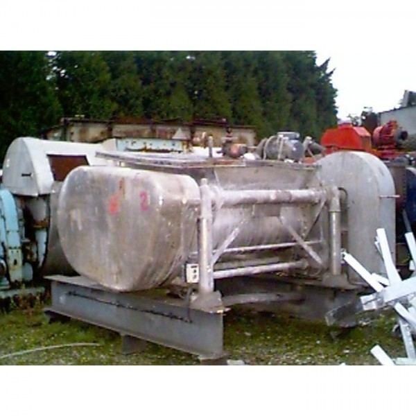 450 Litre Vickers Model 43Z Stainless Steel Jacketed Z-Blade Mixer
