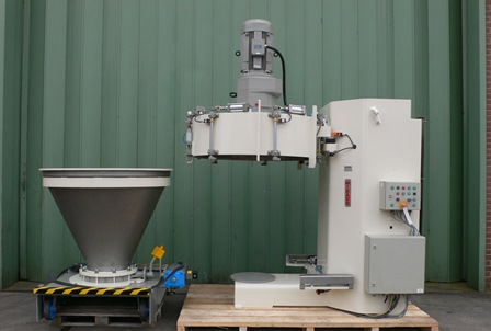 28 CUFT SS MIXACO CM-1000S CONTAINER MIXER