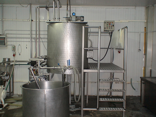 Feta Cheese Plant, 500 litres/hour