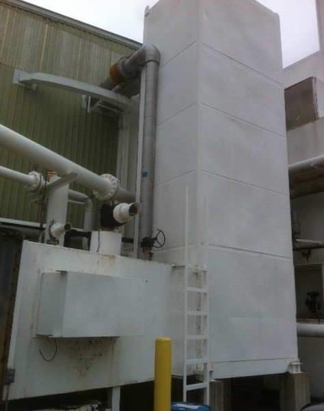 Nitrogen Liquefier Unit, 200 short tons/day