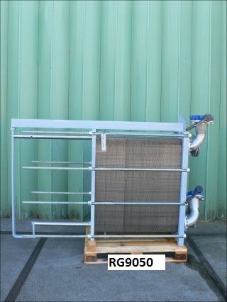 146.8 Sq. M. API Schmidt-Bretten Sigma X49 SCL Stainless Steel Plate Heat Exchanger