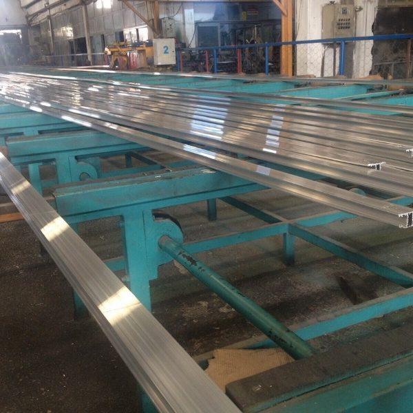 Aluminium Profile Extrusion Line, 150 Tons/Month