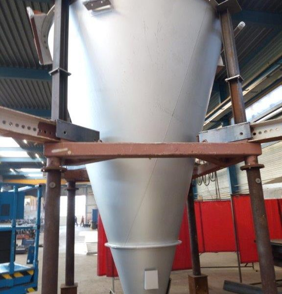 5,000 Litre Nauta Type 5000 PLR Stainless Steel Conical Mixer, New